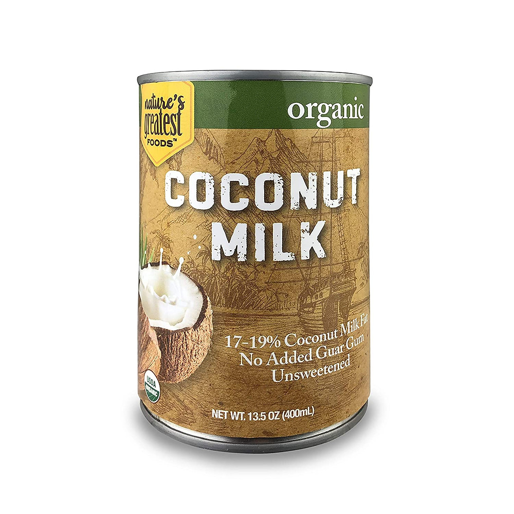 Healthy life selections recommends no guar gum in coconut milk for ketogenic pina coladas and keto beverages