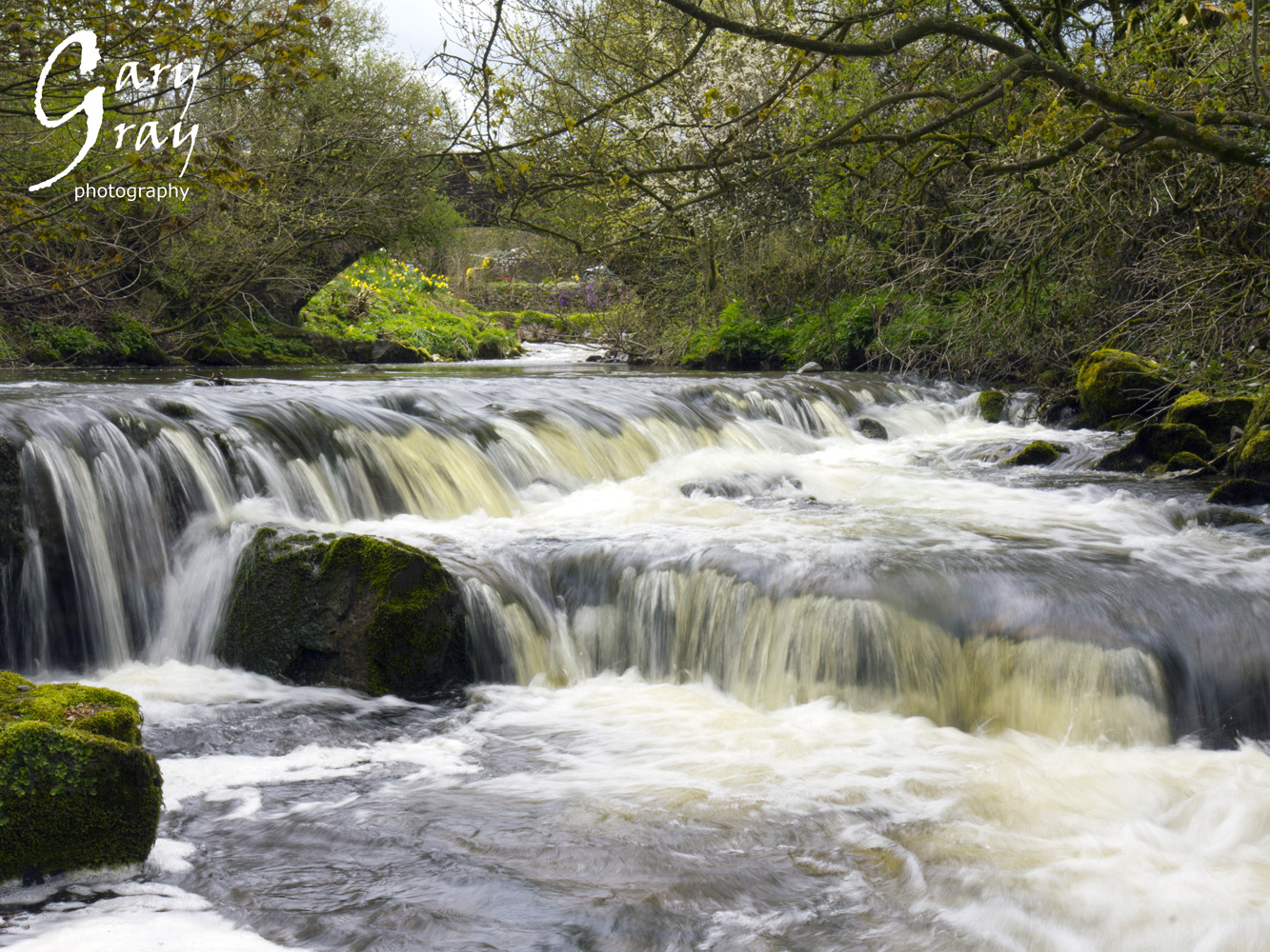 Calder Beck waterfalls