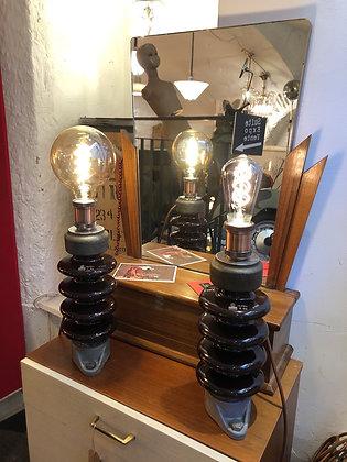 Lampe isolateur création