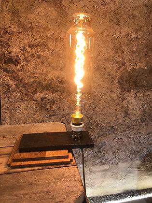 Lampe métal et bois création