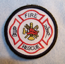 Fire and Rescue Round Patch