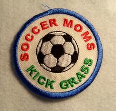 Soccer Mom Kick Grass