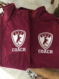 customized embroidery soccer jacket