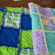 Custom Rag Quilts