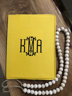 Personalized Notebook Cover