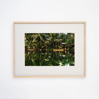 Backwater Life, Kerala INDIA