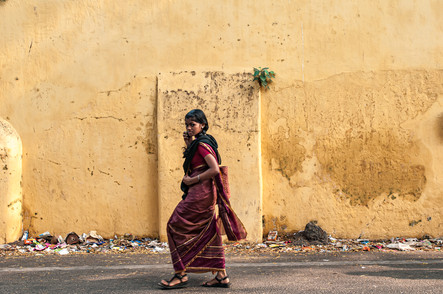 The colors of South India