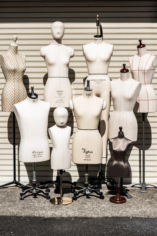 Out on a limb / Kiiya Mannequins Tokyo
