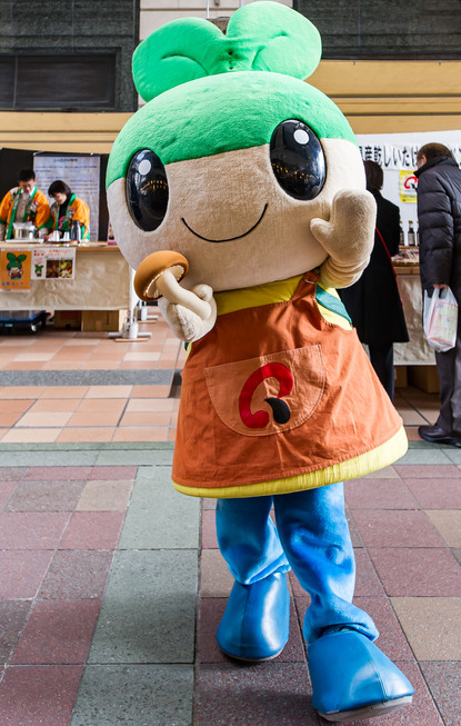 FACE of a NATION / Japanese Mascot Character