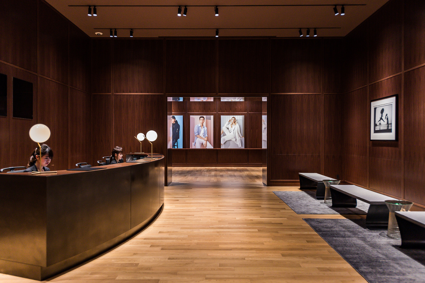 Cut from different cloth / Uniqulo HQ Tokyo