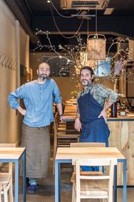 Jérôme Waag and Shin Harakawa