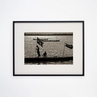 Fisherman's on Backwater, Kerala INDIA