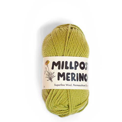 Green - Superfine Merino Ball