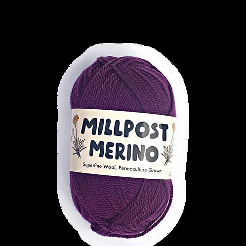 Plum - Superfine Merino Ball