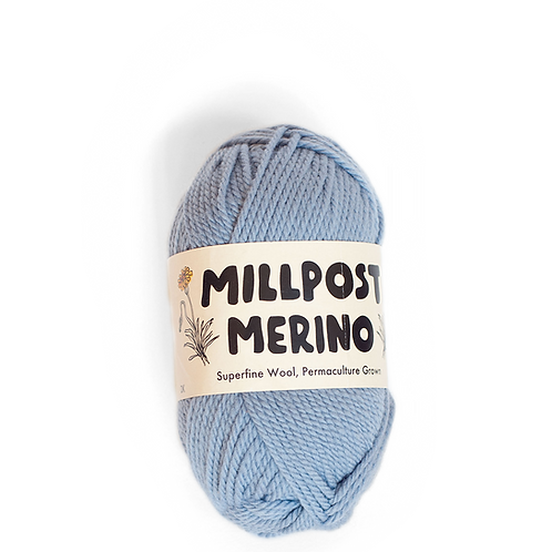 Light Blue - Superfine Merino Ball