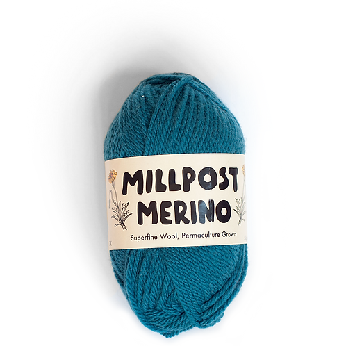 Sea Blue/Green - Superfine Merino Ball