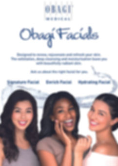 Obagi Facial Kit Counter Card or Poster.