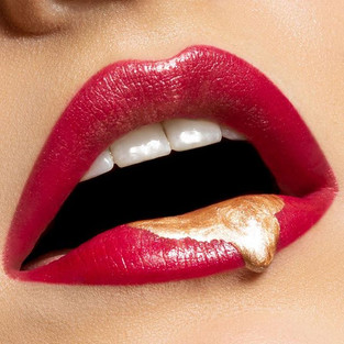 Good morning! Just a classic lip drip wi