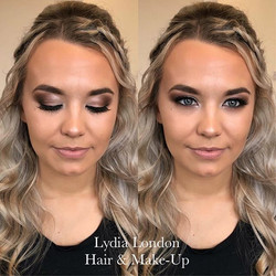 Hair & Make-Up for beautiful client _alannahbevan 's engagement party yesterday 😍 She's 1 hour away