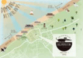kaart hondenstrand domburg