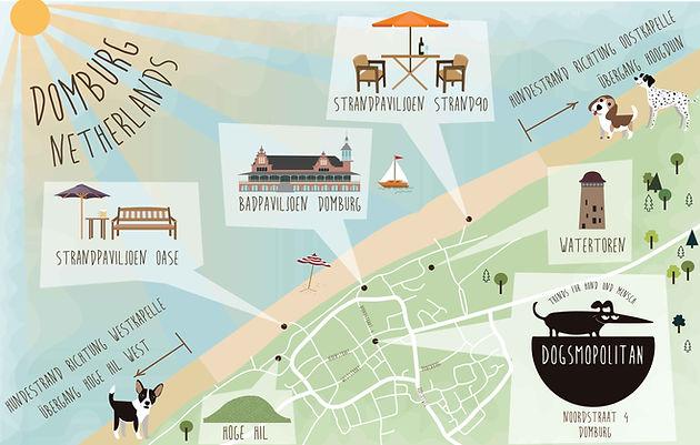 Strand Karte Zeeland.Karte Hundestrande In Domburg