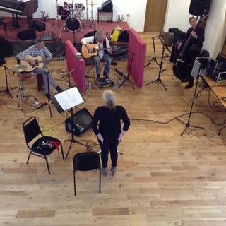 Not Now John recording session