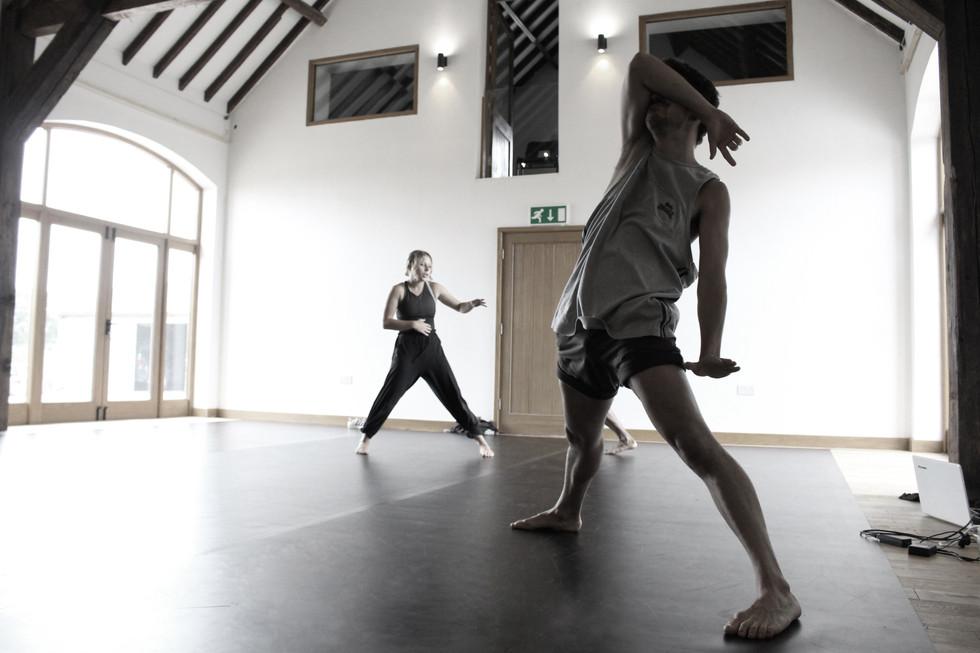 Brink Dance Company Rehearsal