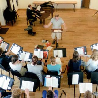 Southwell Music Fest Rehearsal