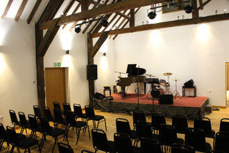 The HopBarn main studio with stage