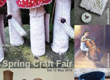 Spring Craft Fair 2018 / Sat 12th May 2018 10.30am - 3.30pm
