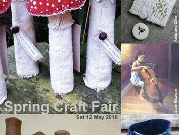 Spring Craft Fair 2018 / Sat 12th May 2018 10.30am - 3.30pm