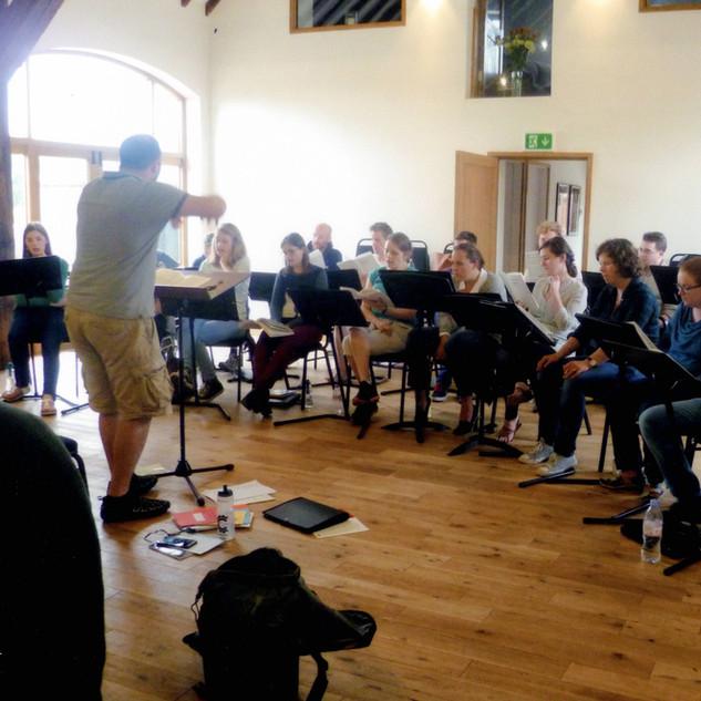 Southwell Music Festival Rehearsal