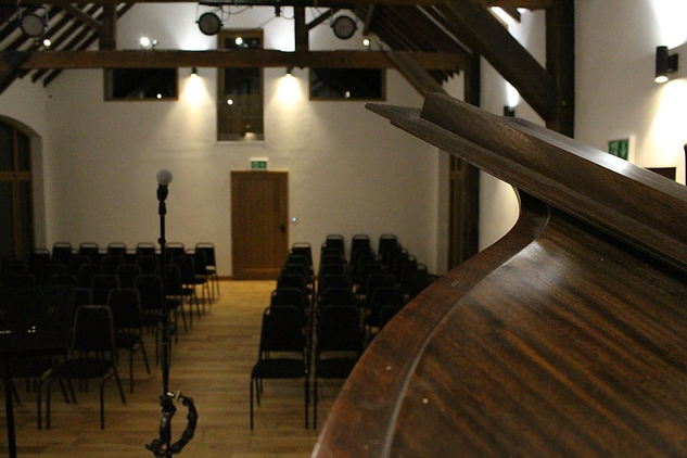 The HopBarn view from the stage