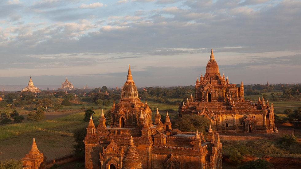Met Min Min naar de tempels van Bagan