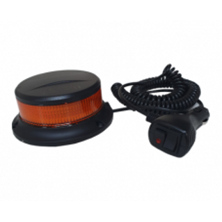 LED Magnetic Low Profile Beacon R65 Approved