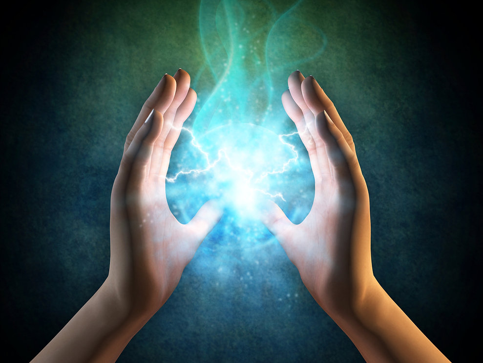WELCOME TO THE WONDERFUL WORLD OF ENERGY HEALING