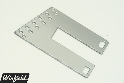 Left-handed 12 string trapeze tailpiece