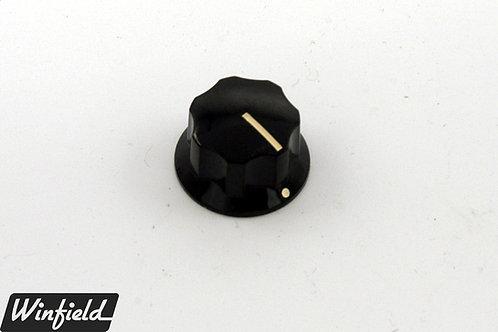 Single vintage blend knob