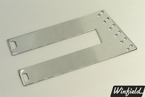 Long 12-string trapeze tailpiece