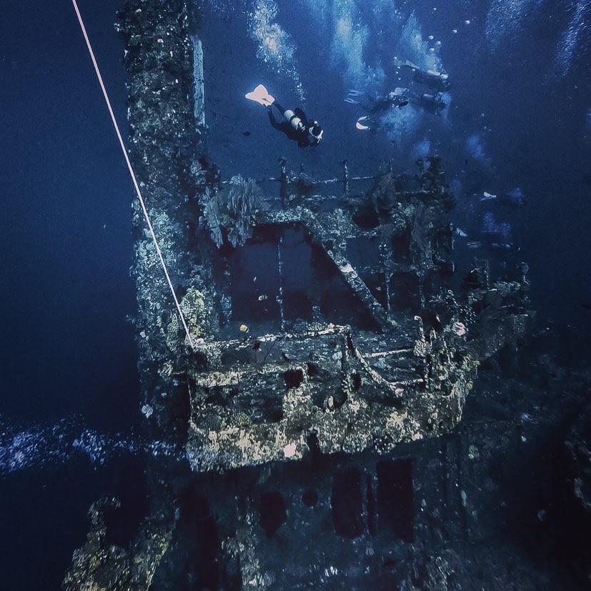 八代灣沉船