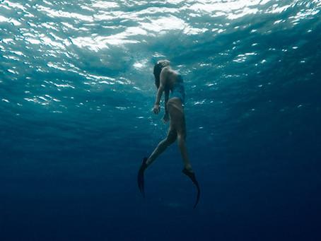 [自由潛水]第一次自由潛水就上手?寫給初學者的5點自潛注意事項