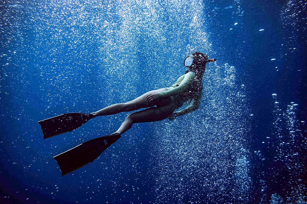 新手自由潛水裝備