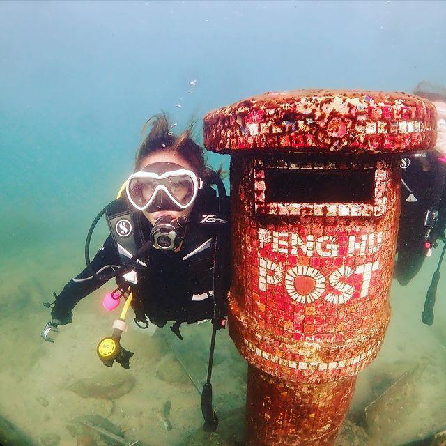 澎湖海底郵筒