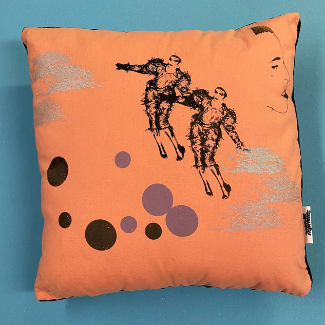 Ashes to Ashes Pillow #2