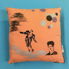 Ashes to Ashes Pillow #1