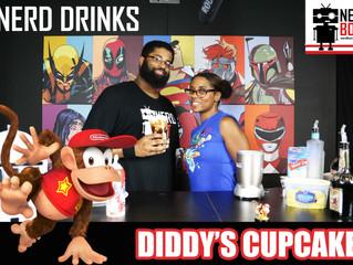 Diddy's Cupcake - Nerdbot Nerd Drinks