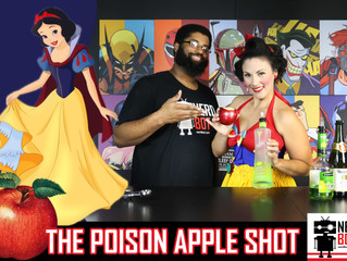 "Snow White's ""The Poison Apple Shot"" - Nerdbot Nerd Drinks"