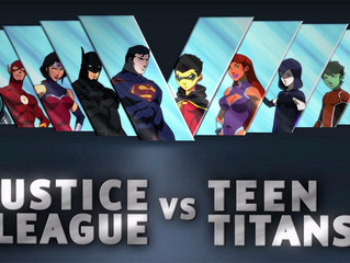 DC's New Versus Movie -- Justice League Vs. Teen Titans