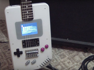 Dude Just Created A Functional Gameboy Guitar!