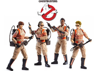 Director Paul Feig give us a first look at the new Ghostbusters action figures